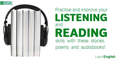 http://learnenglish.britishcouncil.org/en/stories-poems?utm_source=facebook&utm_medium=social&utm_campaign=bc-learnenglish